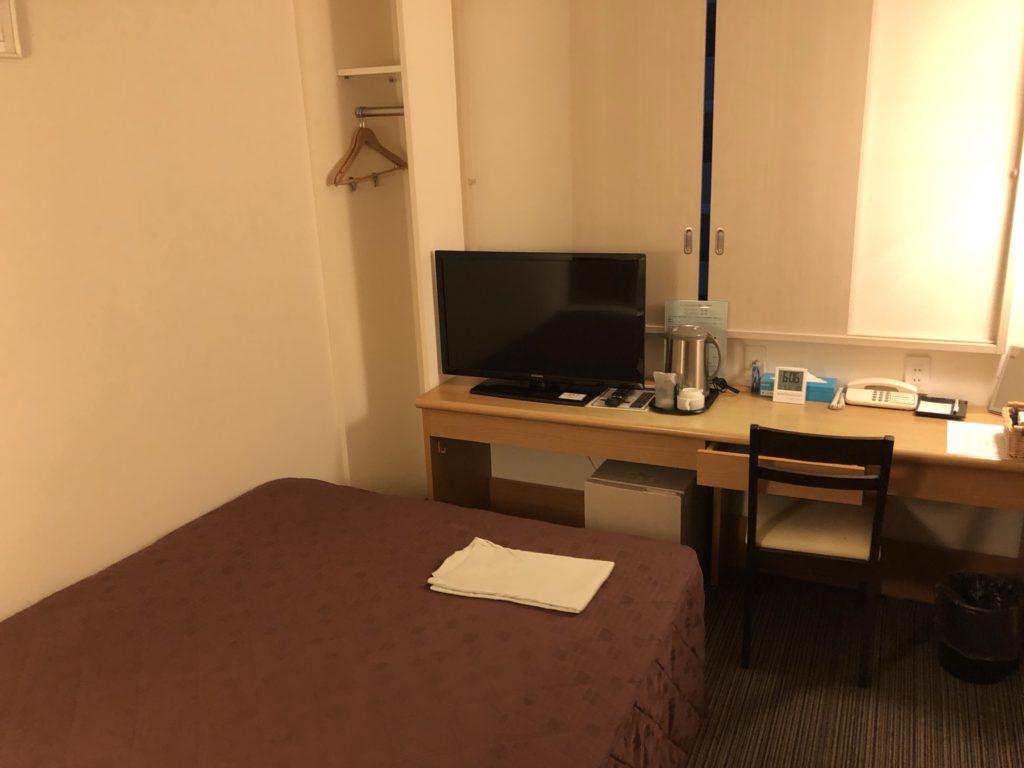 アーベントホテル厚木 ベッド