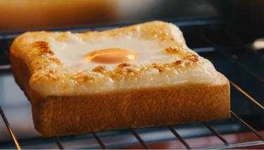 忙しい朝に!食パン・卵・マヨネーズ5分で完成☆CMも話題