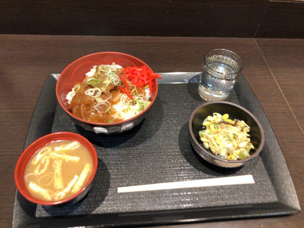 ABホテル豊田元町夕食