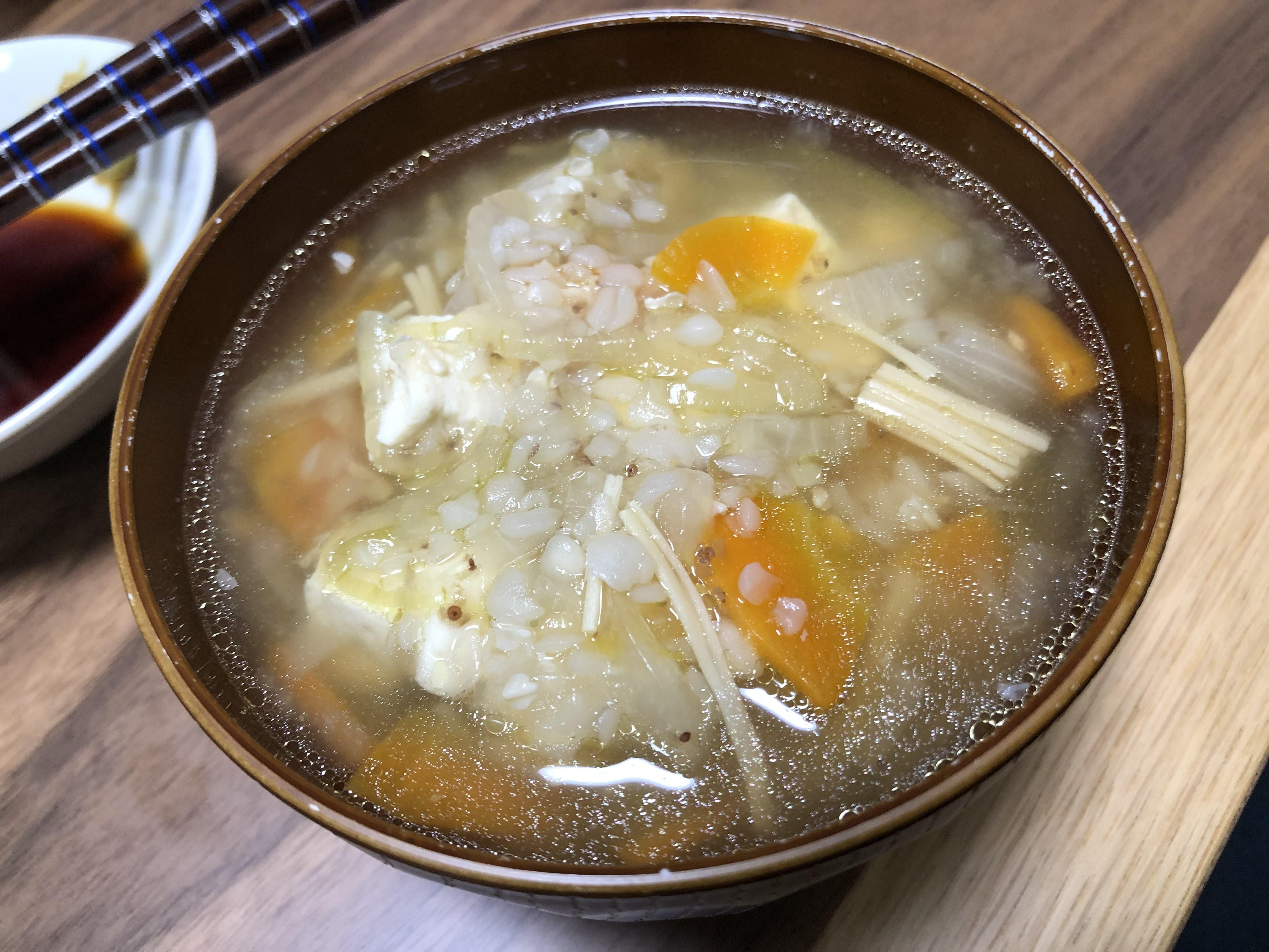 そば米汁!徳島で蕎麦の実を食べるようになった理由と作り方